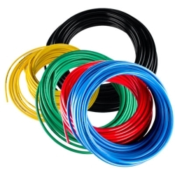 1//16 ID x 1//8 OD Black 1//16 ID x 1//8 OD 25/' Length Fluorotherm Polymers Fluorostore F015082 25 Fractional PTFE Colored 25 Length BLACK